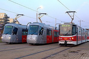 Bezbariérové vozy tramvaji