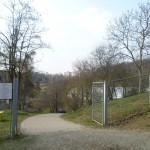 Botanická zahrada - vstup Fata Morgana (boční)
