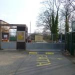 Botanická zahrada - severní vchod