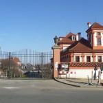 Trojský zámek - vchod