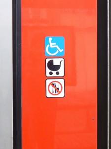 Piktogram bezbariérového vozidla