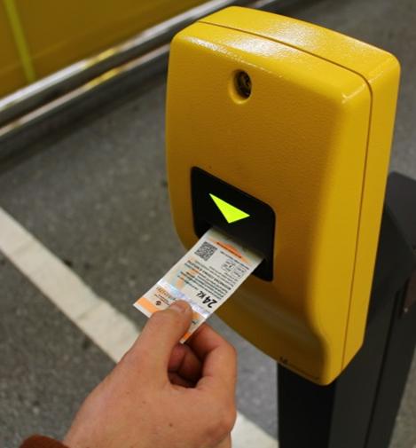 Označení jízdenky