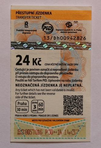 Označená jízdenka