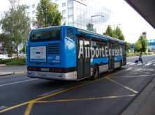 Letištní expres AE pojede v sezoně každých 10 minut