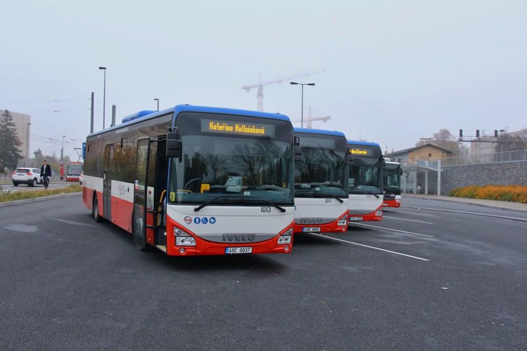 Nové autobusy dopravce Kateřina Kulhánková - EXPRESCAR