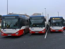 Nové autobusy dopravce Expresscar