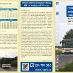 Proudloužení linky 316 do Kralup n. Vlt.