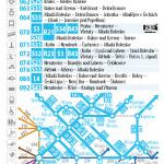 Kartičkový jízdní řád 070 (světle modrý) 2016/17