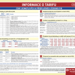 Informace o tarifu PID (říjen 2018)