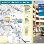 Trvalá změna trasy linky 228