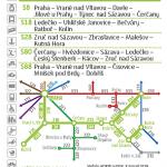 Kartičkový jízdní řád 210 (světle zelený) 2019