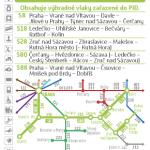 Kartičkový jízdní řád 210 (světle zelený) 2020