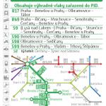 Kartičkový jízdní řád 221 (tmavě zelený) 2020