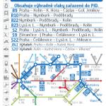 Kartičkový jízdní řád 231 (tmavě modrý) 2020