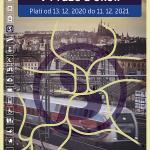 Jízdní řády vlaků v Praze a okolí 2021