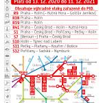 Kartičkový jízdní řád 011 (červený) 2021
