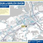 Beroun a Králův Dvůr – linky PID (mapa)