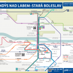 Brandýs nad Labem-Stará Boleslav – linky PID (schéma)