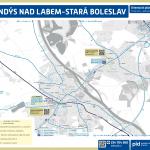 Brandýs nad Labem-Stará Boleslav – linky PID (mapa)