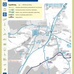 Mníšek pod Brdy – linky PID (mapa)