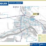 Nymburk – linky PID (mapa)
