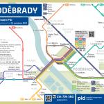 Poděbrady – linky PID (schéma)