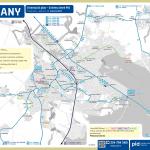 Říčany – linky PID (mapa)