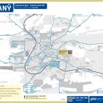 Slaný – linky PID (mapa)