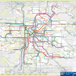 Praha – schéma linkového vedení