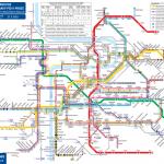 Kolejová doprava PID v Praze (denní provoz)