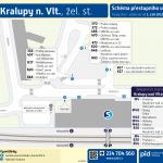 Kralupy nad Vltavou, Žel. st.