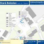 Stará Boleslav, Aut. st. (Školní)