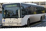 Papercraft del autobús Iveco Crossway LE 12m. Manualidades a Raudales.