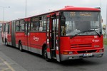 Papercraft recortable del autobús Karosa B941E. Manualidades a Raudales.