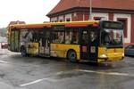 Papercraft recortable del autobus Renault Agora 12m CityBus (DP Praha, 3212). Manualidades a Raudales.