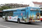 Papercraft del autobus Renault Agora 12m CityBus (DP Praha, 3369). Manualidades a Raudales.