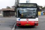 Papercraft del autobus Renault Agora 12m CityBus (DP Praha, 3374). Manualidades a Raudales.
