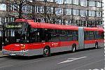 Papercraft recortable del autobus Solaris Urbino 18 (Veolia Transporte Praha, 1246). Manualidades a Raudales.
